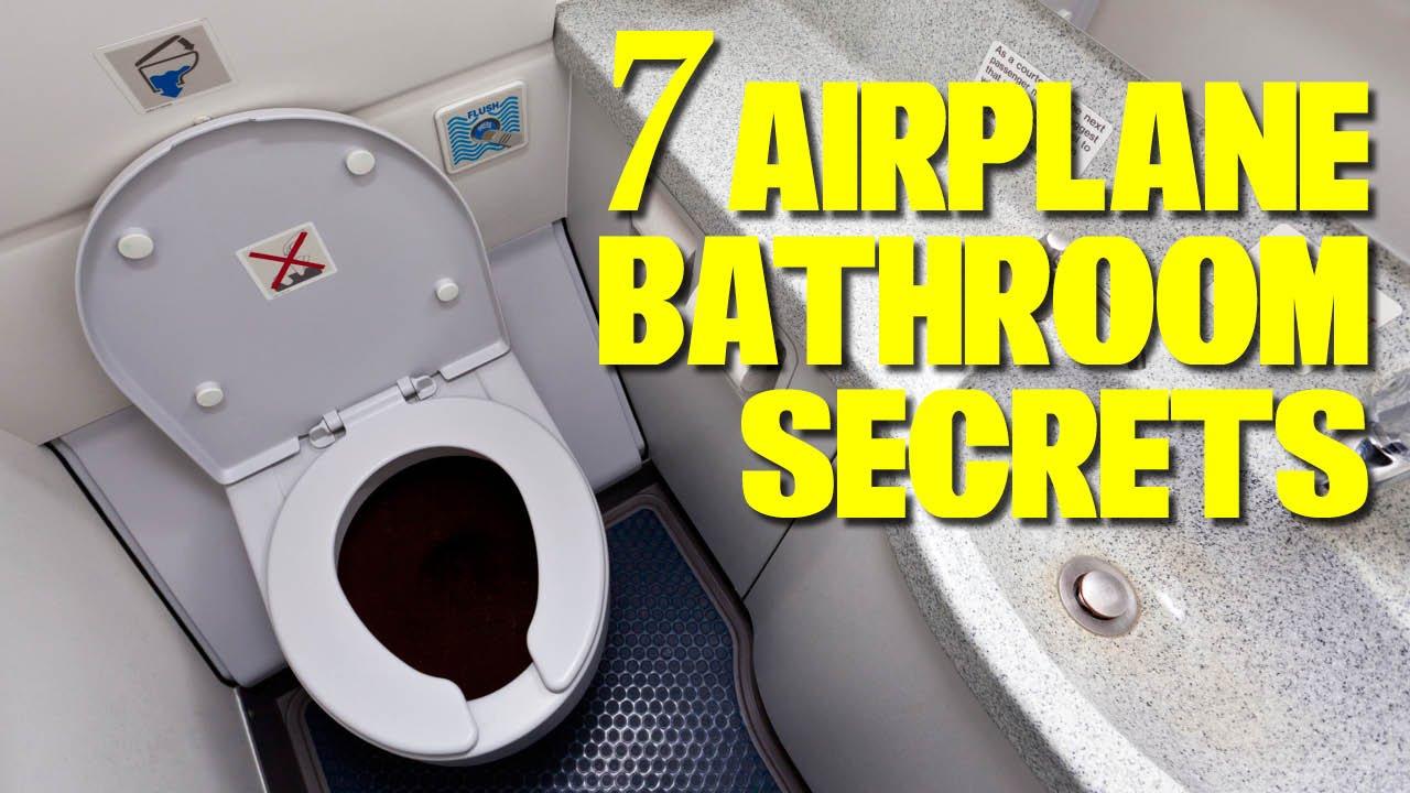 7 Airplane Bathroom Secrets You Need To Know Youtube