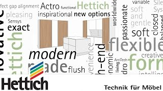 The Latest Trends And Their Realization In Kitchen Furniture, With Technology Made By Hettich