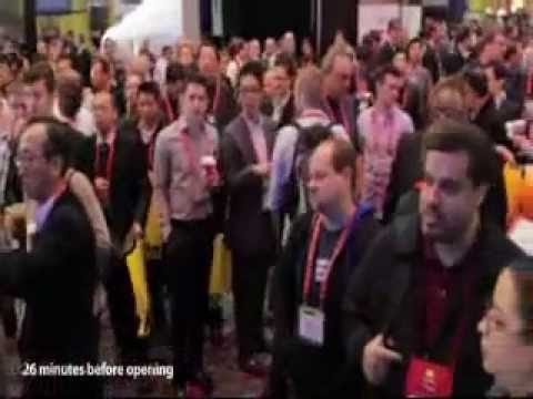 CES 2012 LG Booth Sketch