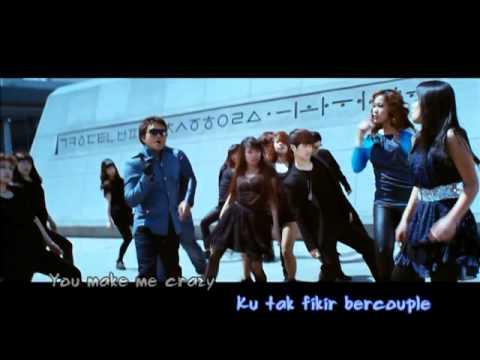 Karaoke Version Baby Crazy - Ost Filem Aku Ada Kau Ada