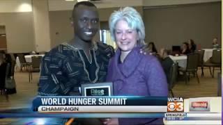 Award addresses worldwide hunger issue - Cedric Habiyaremye