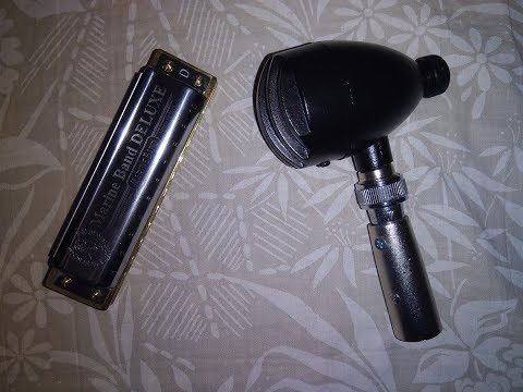 Marcian Petrescu - BULLETINI Dynamic High Impedance Harmonica Microphone(with Volume Control)