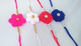 How To Make Easy Woolen Rakhi | Woolen Rakhi Making ideas For Raksha Bandhan