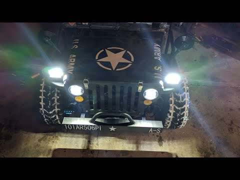 125cc mini jeep LIGHT UPGRADES!! (2 month ownership review)