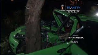 Mobil Tabrak Pohon, Pelajar Tewas Terlindas Truk