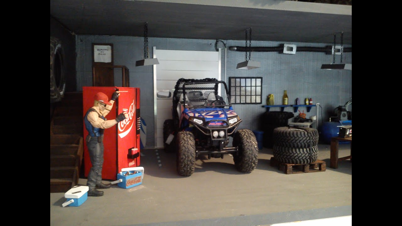 garage workbench ideas youtube - the new for the garage diorama 1 10 scale crawler rc