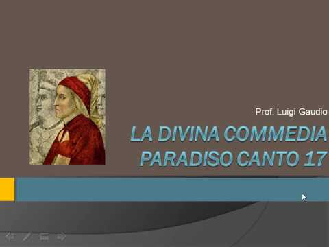Breve sintesi del canto diciassettesimo del Paradiso e canzone Esilio di Luigi Gaudio