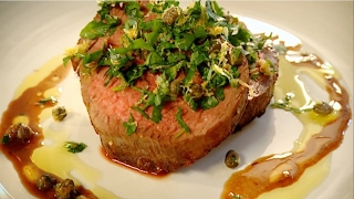 〈拉姆齊上菜〉完美義式菲力牛排 │Fillet Steak with Gremolata│ Gordon Ramsay