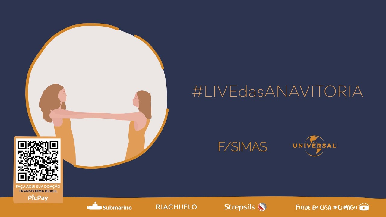 LIVE DAS ANAVITÓRIA #FiqueEmCasa e Cante #Comigo