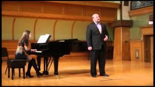 Waft Her Angels by Handel Tenor Jonathan Weyant, Piano Alyssa Arrigo