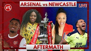 Arsenal vs Newcastle | Aftermath with Pippa and Charlene