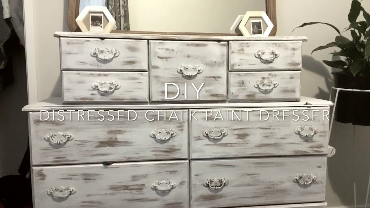 DIY | Chalk Paint Dresser - YouTube
