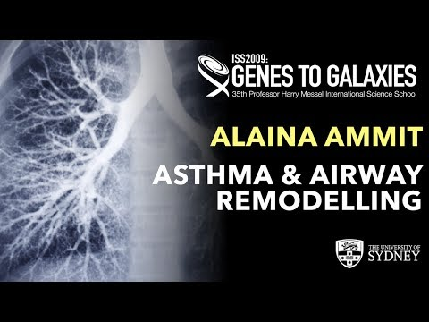 Asthma and Airway Remodelling — Associate Professor Alaina Ammit