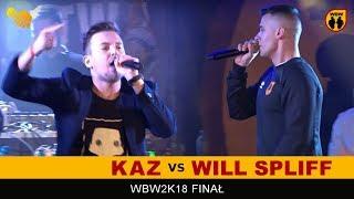 KAZ vs WILL SPLIFF  WBW 2018  Finał XVI Edycji (A) Freestyle Battle