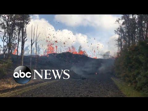 New eruptions from Kilauea volcano in Hawaii