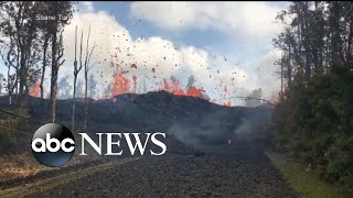 New eruptions from Kilauea volcano in Hawaii