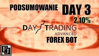 Day Trading Advanced Forex Bot Earnings Day 3