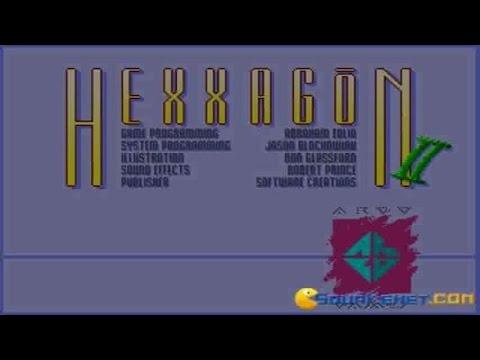 Hexxagon 2 gameplay (PC Game, 1993) thumbnail