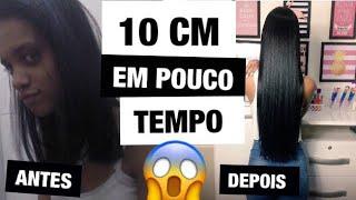 10 DICAS PARA O CABELO CRESCER MUITO (COMO MEU CABELO CRESCEU TANTO?)  - Karol Carvalho