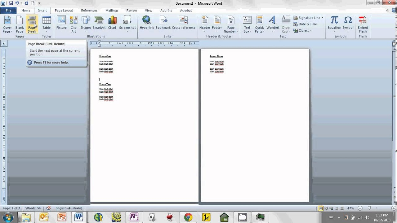 How To Copy And Paste Multiple Documents Into One Document