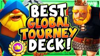 16-0! ALL REWARDS! BEST DECK for GLOBAL TOURNAMENT! - CLASH ROYALE