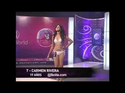 Carmen Rivera - Preliminar Nuestra Belleza 2014