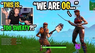 Gambar cover I played Fortnite at 4AM and met another RENEGADE RAIDER... (super sweaty)