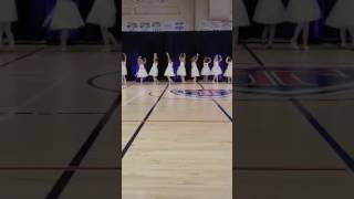 Ballet dance--much more relaxed than last year's performance!