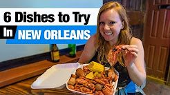 Cajun & Creole Food - 6 Dishes to Try in New Orleans! (Boudin, Beignets and more!)