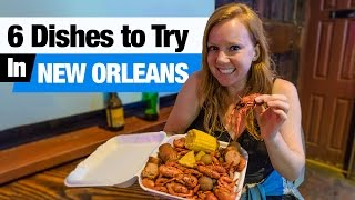 Video Cajun & Creole Food - 6 Dishes to Try in New Orleans! (Boudin, Beignets and more!) download MP3, 3GP, MP4, WEBM, AVI, FLV Juli 2018