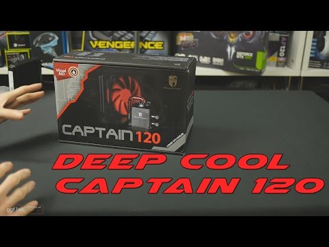 #0108 - Deep Cool Captain 120 AIO Review