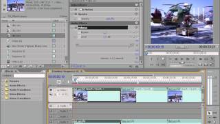 Как работать в Adobe Premiere Pro CS3 media. Часть 5.