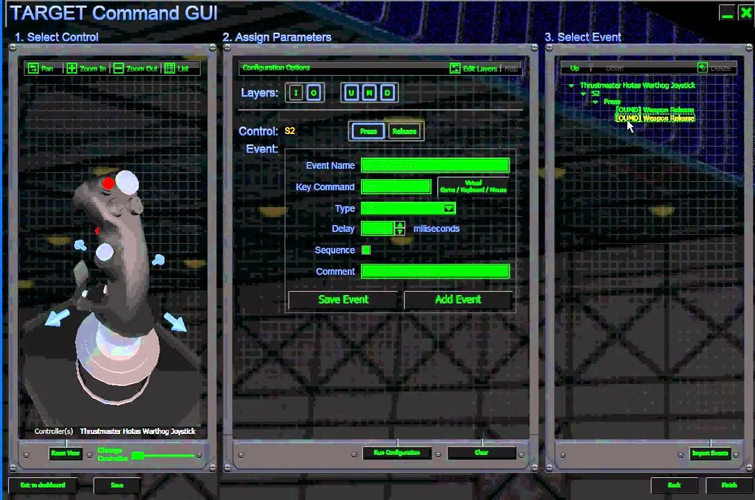 SimHQ Review: Thrustmaster HOTAS Warthog - Drag-and-Drop I-O Programming