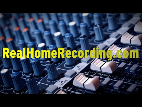 Welcome to Real Home Recording