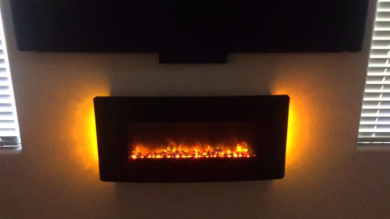 muskoka electric fireplace youtube
