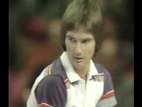 Vitas Gerulaitis vs Jimmy Connors  SF Masters 1979