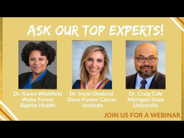 Ask An Expert II: The Myeloma Spectrum and COVID-19