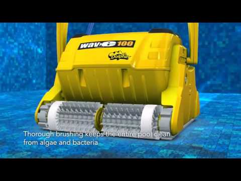 Dolphin Wave 100 Commercial Automatic Swimming Pool Electronic Cleaner