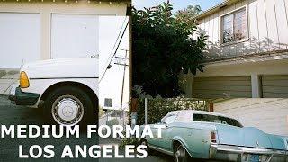 Shooting Medium Format Film in Los Angeles (Mamiya 7ii)