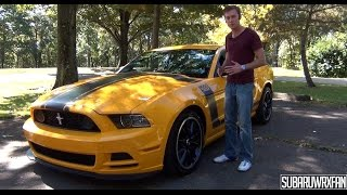 Review: 2013 Ford Mustang Boss 302