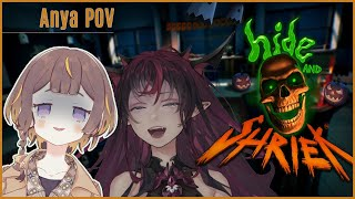 【Hide and Shriek】BOO! I'm behiRyS you... 後輩をワカラせます。【hololive Indonesia 2nd Generation】