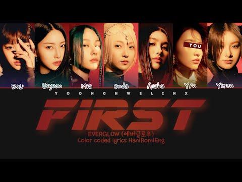 EVERGLOW (에버글로우) ↱ FIRST ↰ You as a member [Karaoke] (7 members ver.) [Han|Rom|Eng] ▶3:58