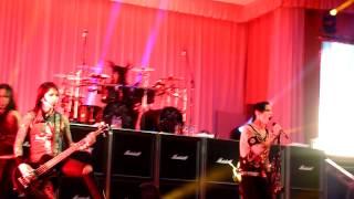 Black Veil Brides - Heart Of Fire + Intro LIVE