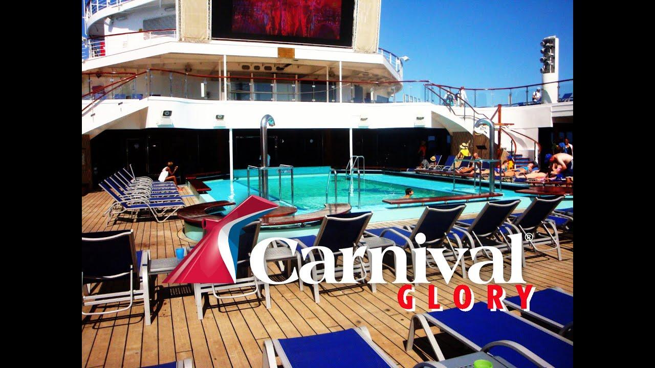 Carnival Glory Cruise. Tides Pool.