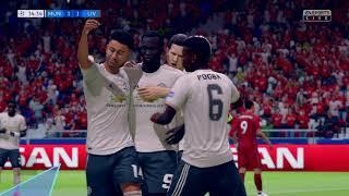 FIFA 19 -  Manchester United vs Liverpool - PS4 PRO HD 4K