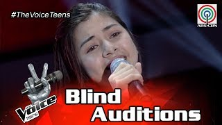 The Voice Teens Philippines Blind Audition: Ashley Barilea - Para Sa Akin.