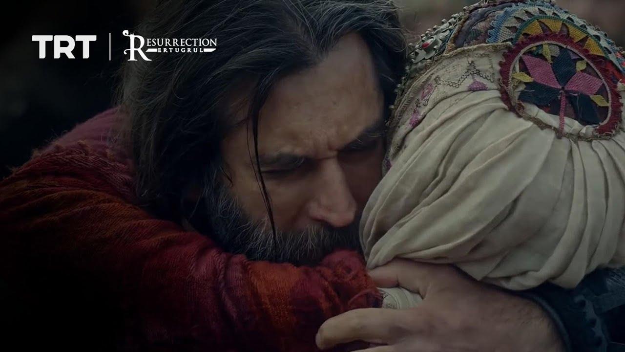 Ertugrul returns an injured Sungurtekin to the tribe