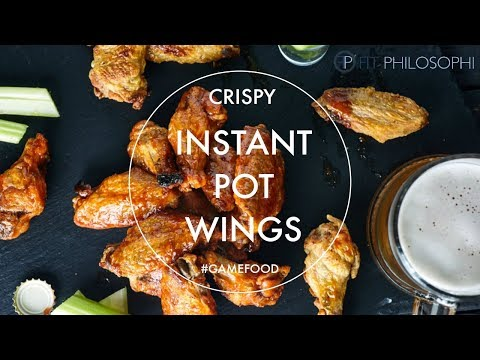 Cripsy Wings In The Instant Pot