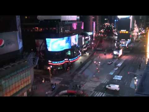 Times Square, NYC 2013 - STREAM WEBCAM 2013-03-24
