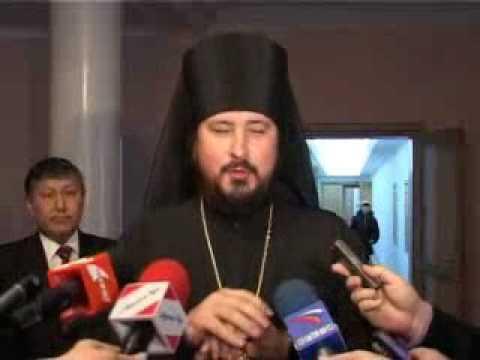 Приезд владыки Савватия в г. Улан-Удэ